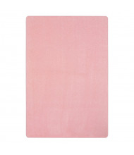 Joy Carpets Just Kidding Solid Color Classroom Rug, Pale Pink