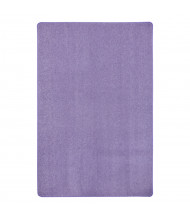 Joy Carpets Just Kidding Solid Color Classroom Rug, Very Violet