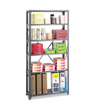 "Safco Commercial 6268 12"" D x 36"" W x 75"" H 6-Shelf Heavy-Duty Steel Shelving Unit"
