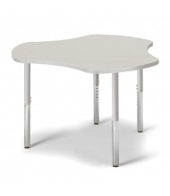 "Jonti-Craft Berries 47"" W x 44"" D Classroom Activity Table (Shown in Grey/Grey)"