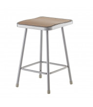 "NPS 24"" H Square Science Lab Stool"