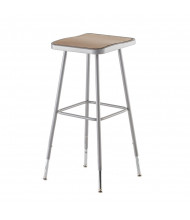 "NPS 31"" - 39"" Height Adjustable Square Science Lab Stool"