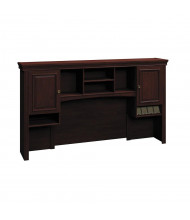 "Bush Syndicate 6373 72"" W Overhead Hutch (Shown in Harvest Cherry)"