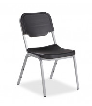 Iceberg Rough N Ready 4-Pack Polyethylene Stacking Chair