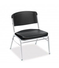 Iceberg Rough N Ready 500 lb. Polyethylene Stacking Chair. Shown in Black