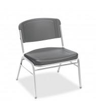 Iceberg Rough N Ready 4-Pack 500 lb. Polyethylene Folding Chair. Shown in Charcoal
