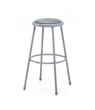 "NPS 30"" H Padded Round Science Lab Stool"
