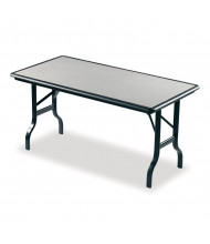 "Iceberg IndestrucTable 60"" x 30"" Folding Table 65117"