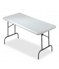 "Iceberg IndestrucTable Too 30"" x 60"" Light Duty Folding Table"