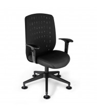 OFM Vision 655 Mesh Mid-Back Executive Guest Chair (in black)