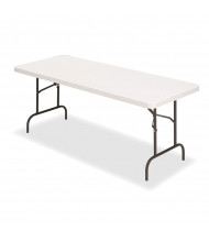 "Iceberg IndestrucTable Too 60"" x 30"" Folding Banquet Table"