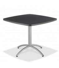 "Iceberg CafeWorks 36"" Square Cafe Table (Shown in Graphite)"