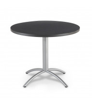 "Iceberg CafeWorks 36"" Round Cafe Table (Shown in Graphite)"