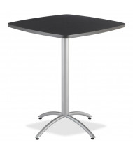 "Iceberg CafeWorks 36"" Square Bistro Table (Shown in Graphite)"