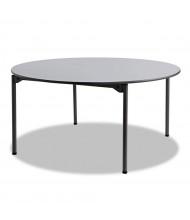 """Iceberg Maxx Legroom 60"""" Round Plastic Folding Table"""