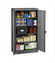"Tennsco 36"" W x 66"" H Assembled Standard Storage Cabinets (Shown in Medium Grey)"