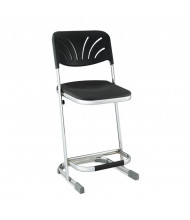"NPS Elephant 22"" H Science Lab Z-Stool, Backrest"