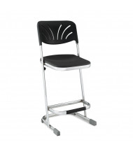 "NPS Elephant 24"" H Science Lab Z-Stool, Backrest"