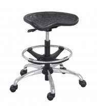Safco SitStar 6660 Aluminum Base Stool, Footring