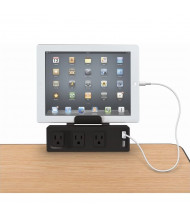 Balt 66675 Clamp Mount 3 Outlet and 2 USB Charging Ports