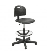Safco Soft Tough 6680 Economy Drafting Chair Stool, Footring