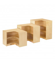 Jonti-Craft Super-Sized Inside Corner Classroom Storage (shown with two smaller models)