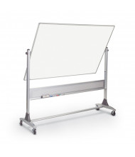 Best-Rite 669RH-DD Porcelain 8 ft. x 4 ft. Aluminum Trim Reversible Board - Accessories not included.