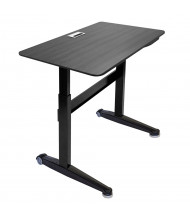 "Iceberg 47"" W x 27"" D Height Adjustable Laminate Desk (Shown in Espresso)"