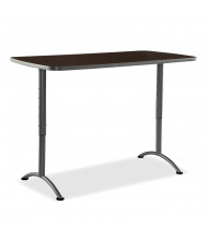 "Iceberg ARC Pin 30"" - 42"" H Rectangle Adjustable Table, 30"" D (Shown in Walnut)"