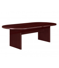DMI Furniture Fairplex 8 ft Racetrack Expandable Conference Table (Shown in Mahogany)