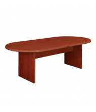 DMI Furniture Fairplex 8 ft Racetrack Conference Table (Shown in Cognac Cherry)