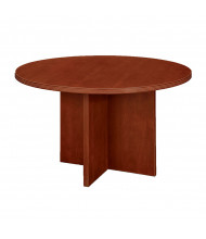 "DMI Furniture Fairplex 47"" Round Conference Table (cognac cherry)"