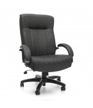 OFM Big & Tall 400 lb. Fabric High-Back Executive Office Chair, Grey