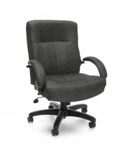 OFM 711 Big & Tall 400 lb. Fabric Mid-Back Executive Office Chair (in grey)