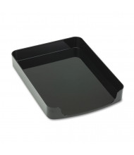 "Officemate 2"" H 2200 Series Front-Loading Desk Letter Tray, Black"