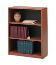 Safco Value Mate 7171CY 3-Shelf Metal Bookcase in Cherry Finish