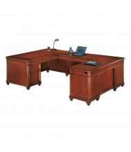 "DMI Antigua 72"" W U-Shaped Straight Front Office Desk"