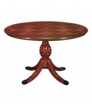 "DMI Furniture Antigua 7480-89 42"" Round Conference Table, Cherry"