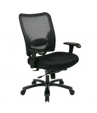 Office Star Space Seating Big & Tall 400 lb. Double AirGrid Mesh Mid-Back Office Chair