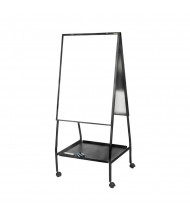 "Best-Rite 770 Wheasel 59.5"" to 65"" H Adjustable Porcelain Magnetic Mobile Easel"