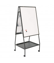 Best-Rite Wheasel Height Adjustable Porcelain Magnetic Mobile Easel