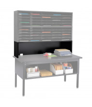 Safco E-Z Sort Riser for Mail Sorters (Shown in Black; table, sorter, and other accessories not included)