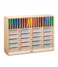 Jonti-Craft Homework Station with Clear Paper-Trays (folders not included)