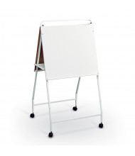 Best-Rite Eco Wheasel Melamine Mobile Easel with Tray