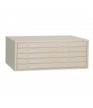 """Mayline C-File 5-Drawer Flat File Cabinet for 36"""" x 48"""" Sheets (Shown in Sand Beige)"""