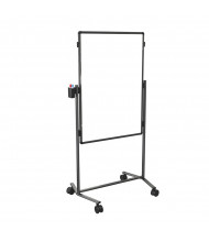 "Best-Rite B795AC-WW Modifier XV Melamine 28"" x 41"" Adjustable Height Mobile Easel"