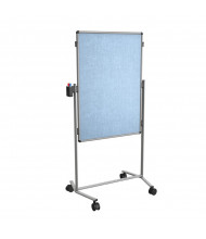 "Best-Rite 795AC-VV Modifier XV Vinyl 28"" x 41"" Adjustable Height Mobile Easel"