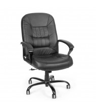 OFM 800-L Big & Tall 400 lb. Leather High-Back Executive Office Chair