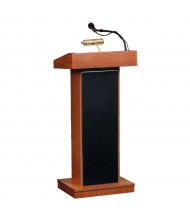 Oklahoma Sound Orator Wireless Sound System Lectern (Shown in Cherry)