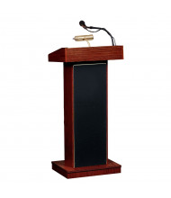 Oklahoma Sound Orator Sound System Lectern (Shown in Mahogany)